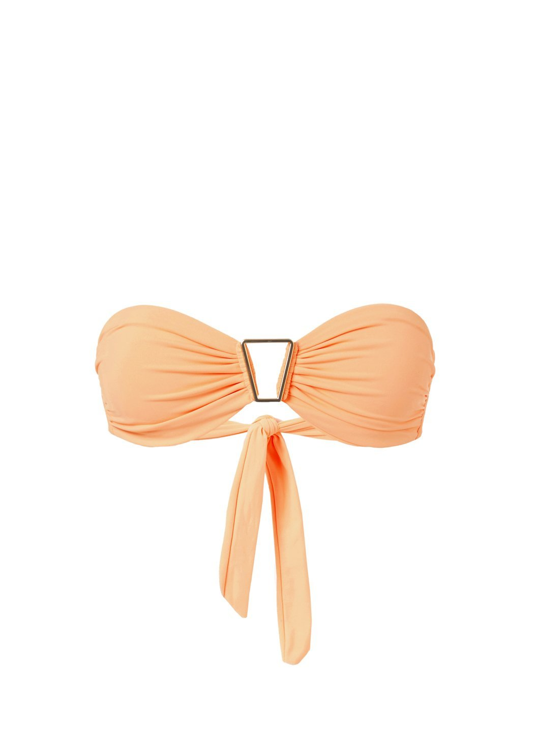 Barcelona Mango Bandeau Triangle Trim Bikini Top