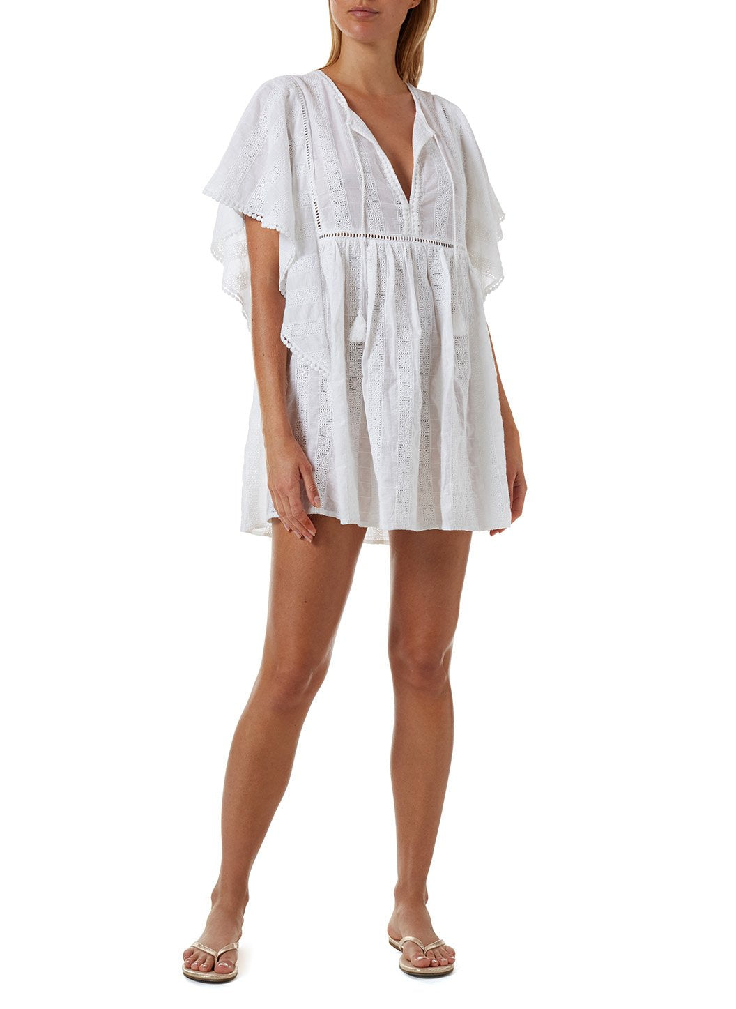 Brooke White Kaftan