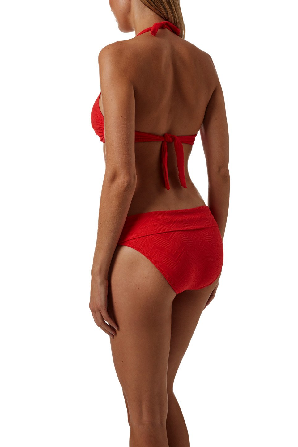 Brussels Red Zigzag Bikini