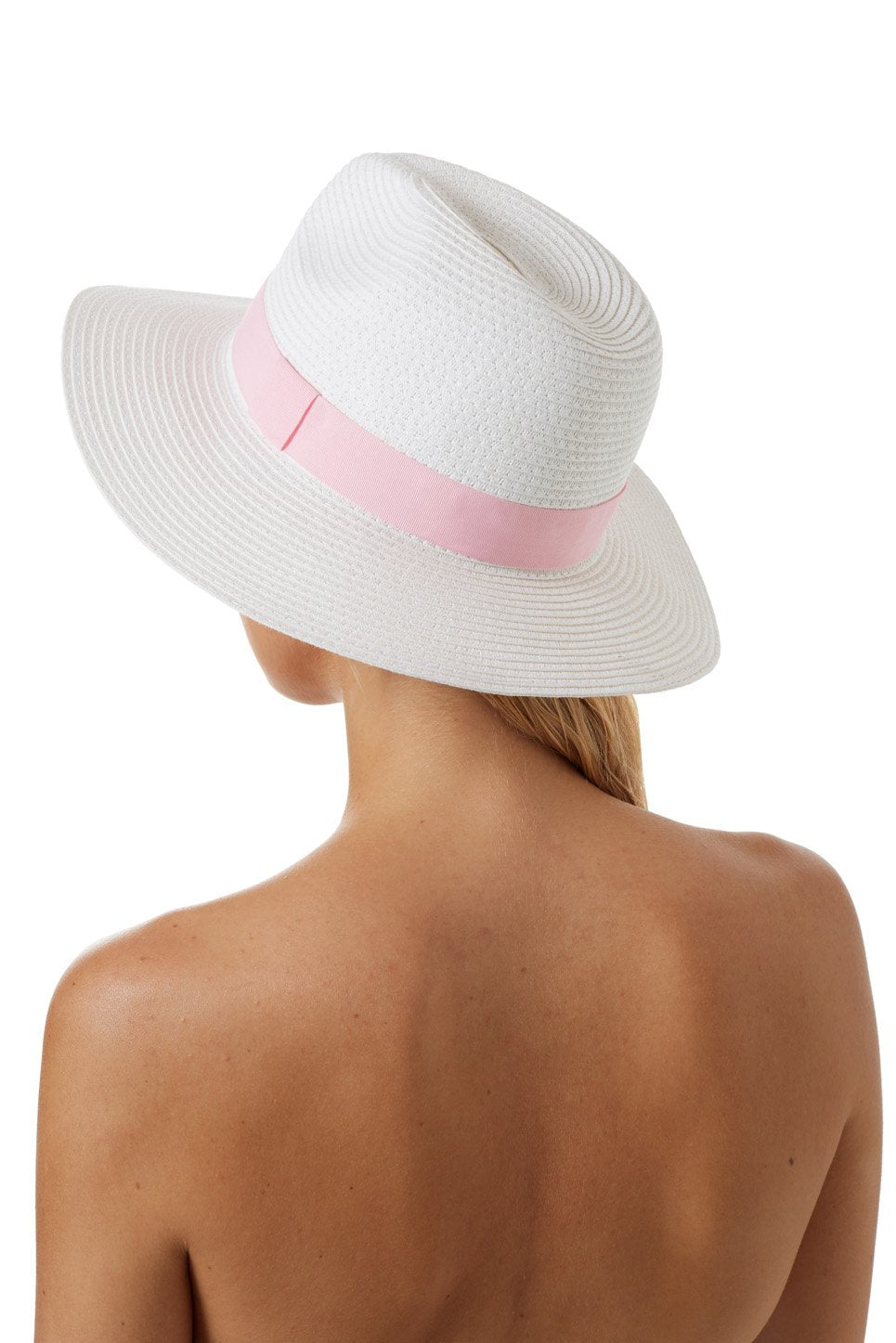 Fedora White Rose