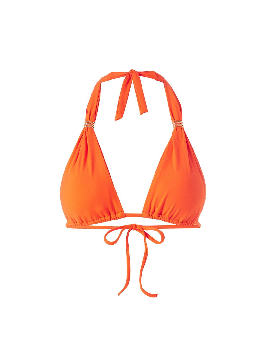 Maldives Papaya Bikini Top CUTOUT