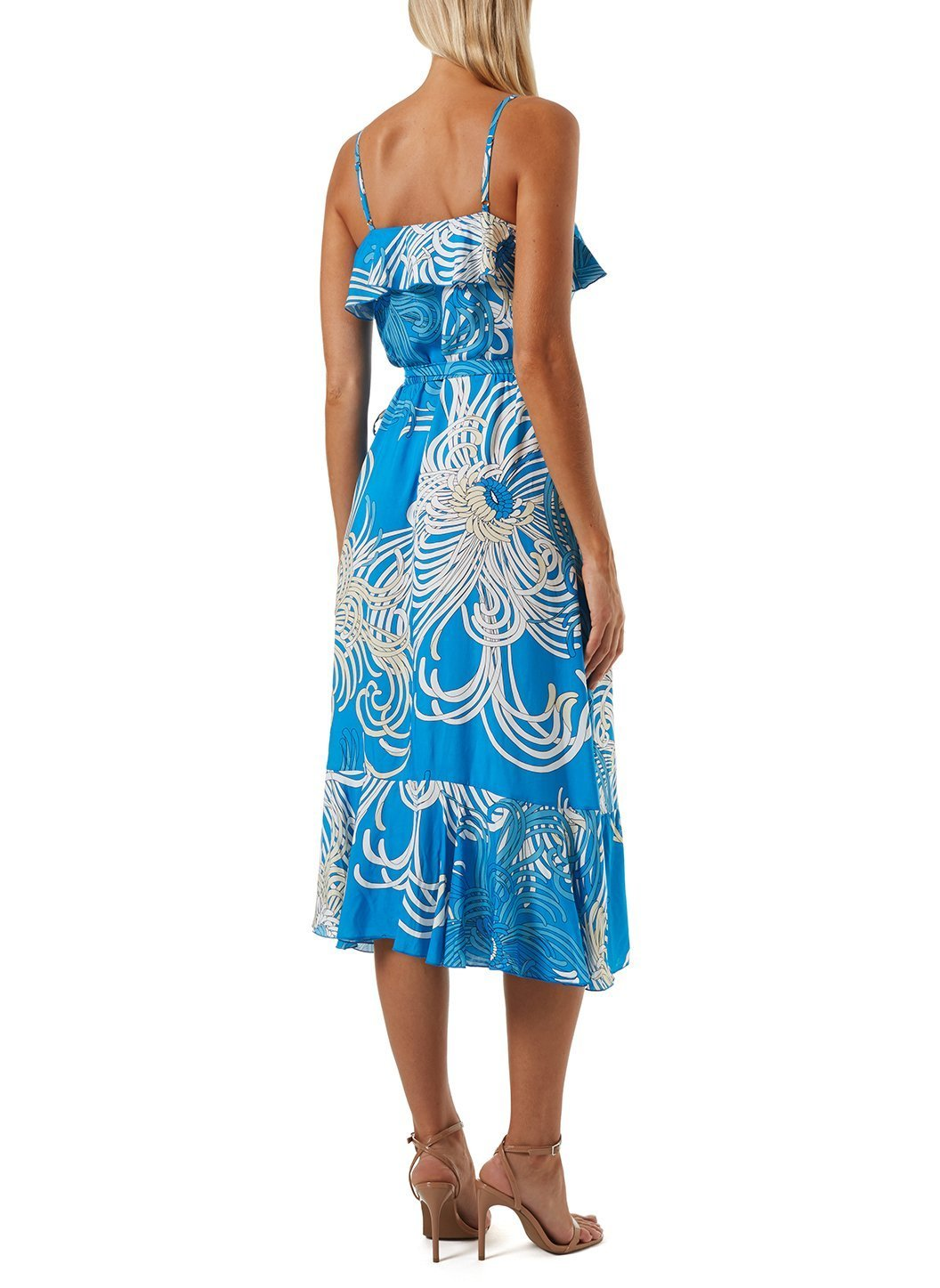 Kiwi Blue Swirl Dress