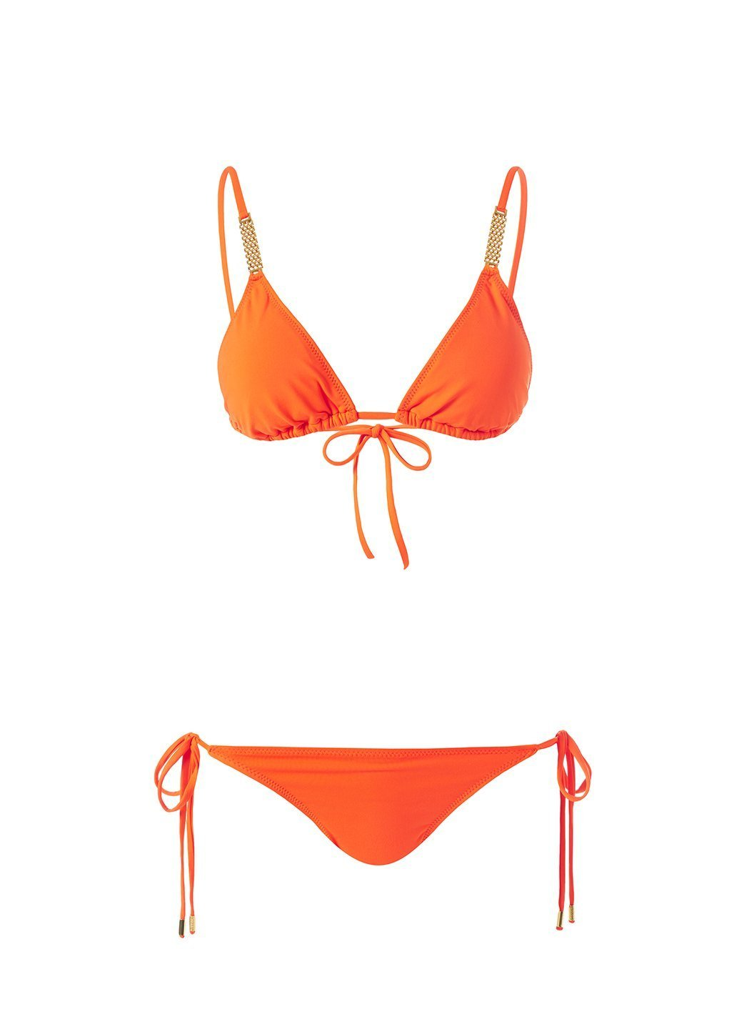Maldives Papaya Bikini Cutout