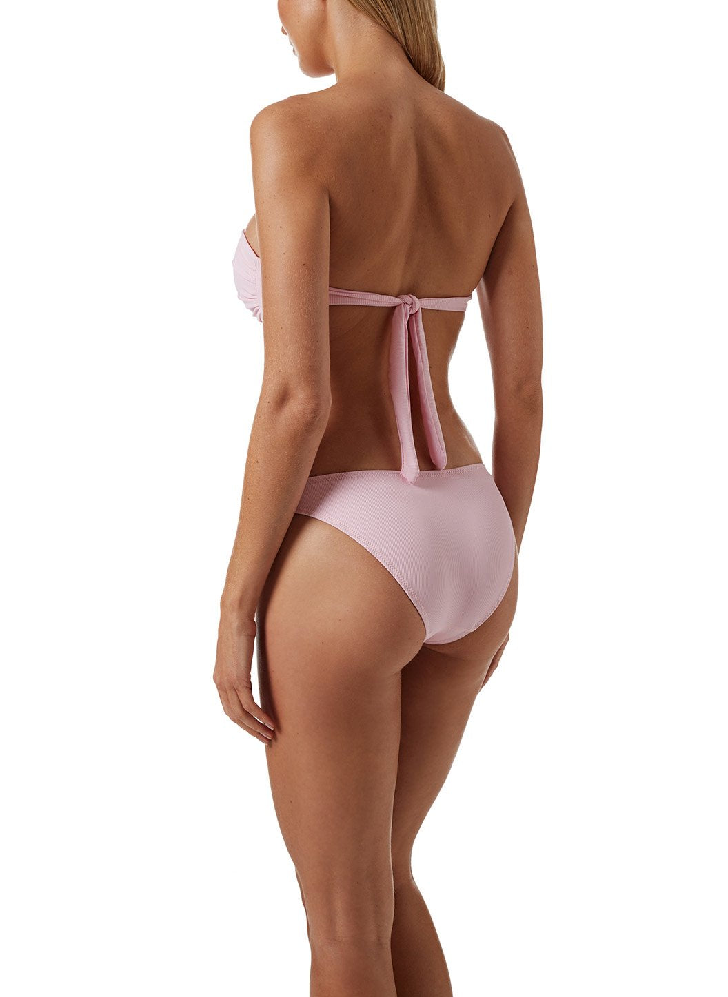 Martinique Ribbed Blush Bikini