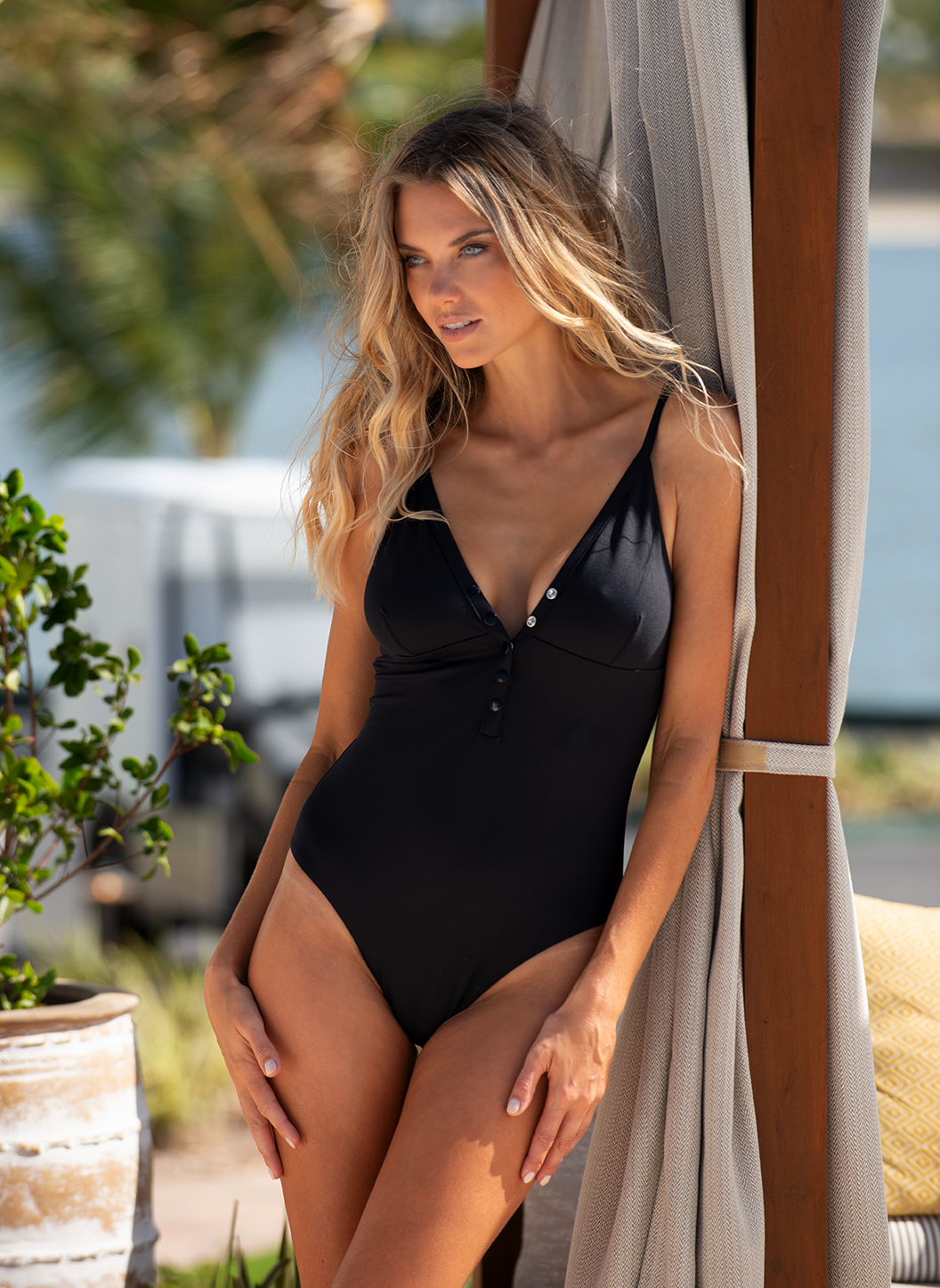 Nepal Black Swimsuit