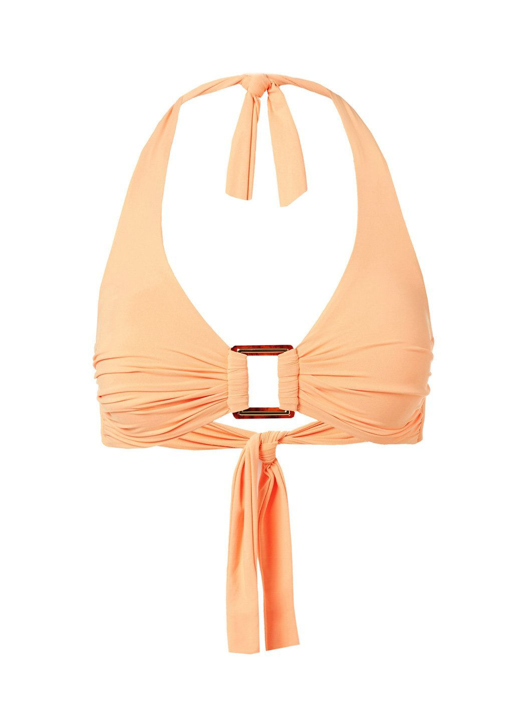 Paris Mango Halterneck Rectangle Trim Bikini Top