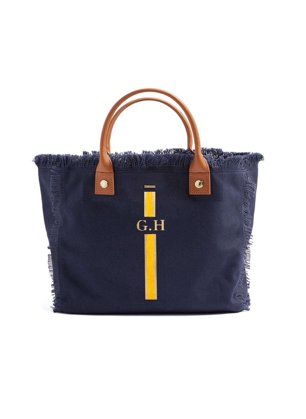 Porto Cervo Navy/Yellow