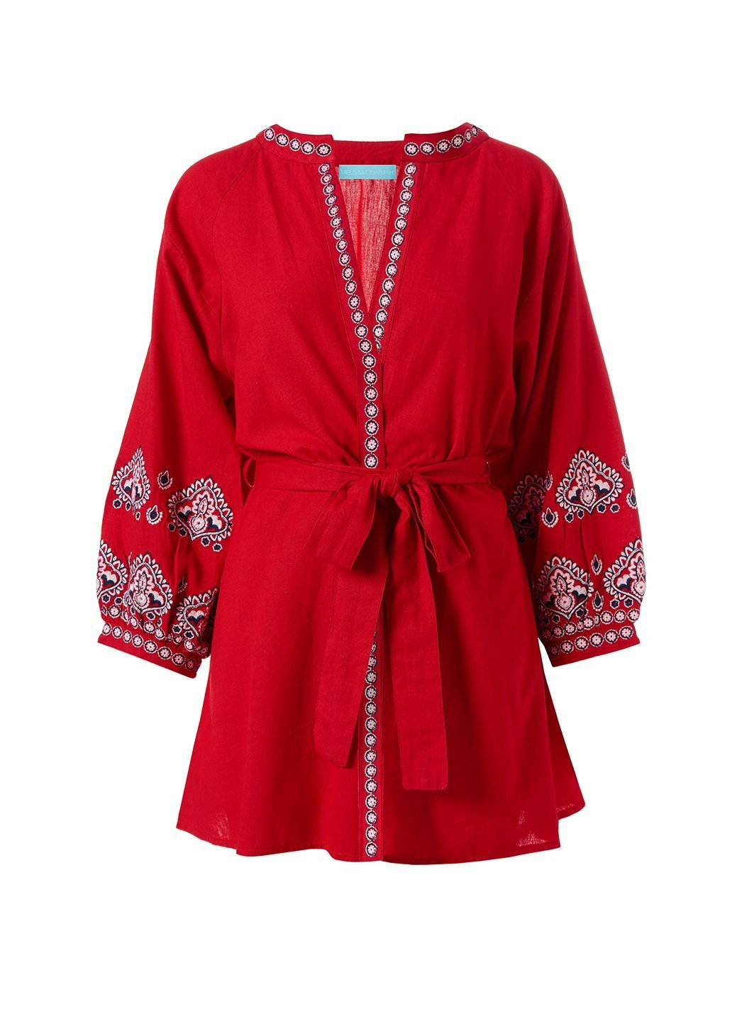 Tania Red Kaftan Video