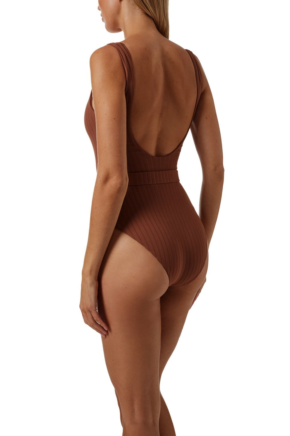 Texas Ribbed Coco Swimsuit