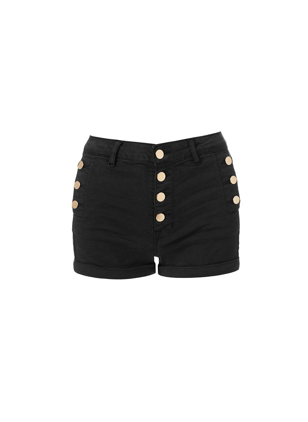Yanni Black Shorts