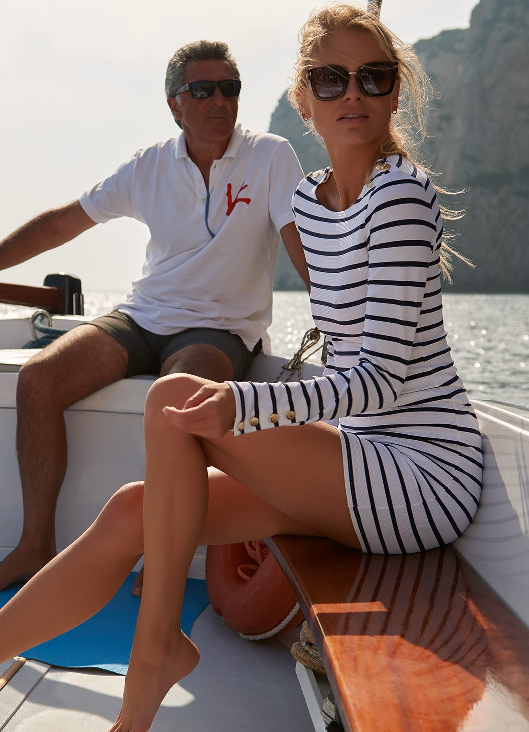agata marine short dress lifestyle 2019