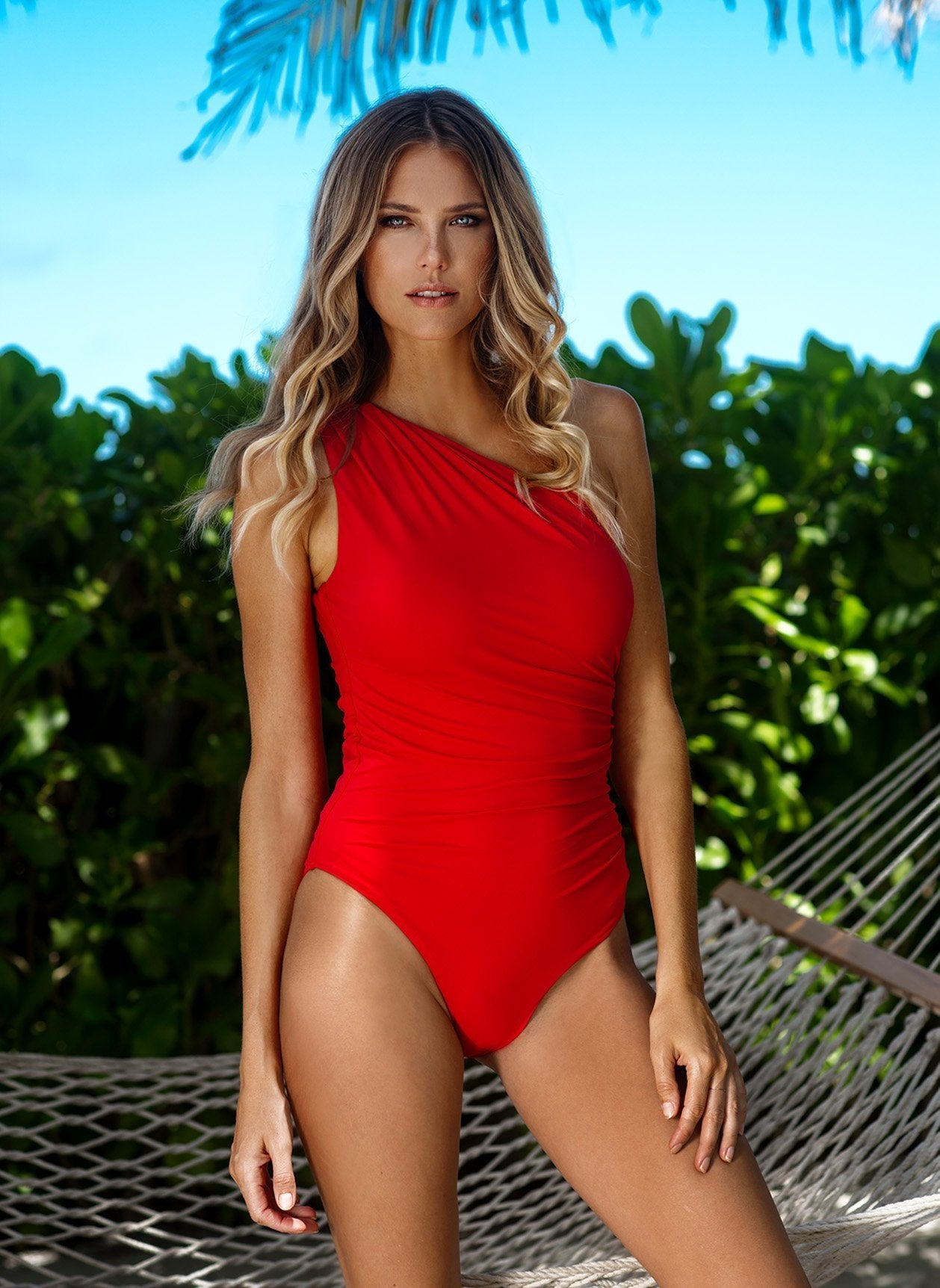 Arizona Red Swimsuit Lifestyle