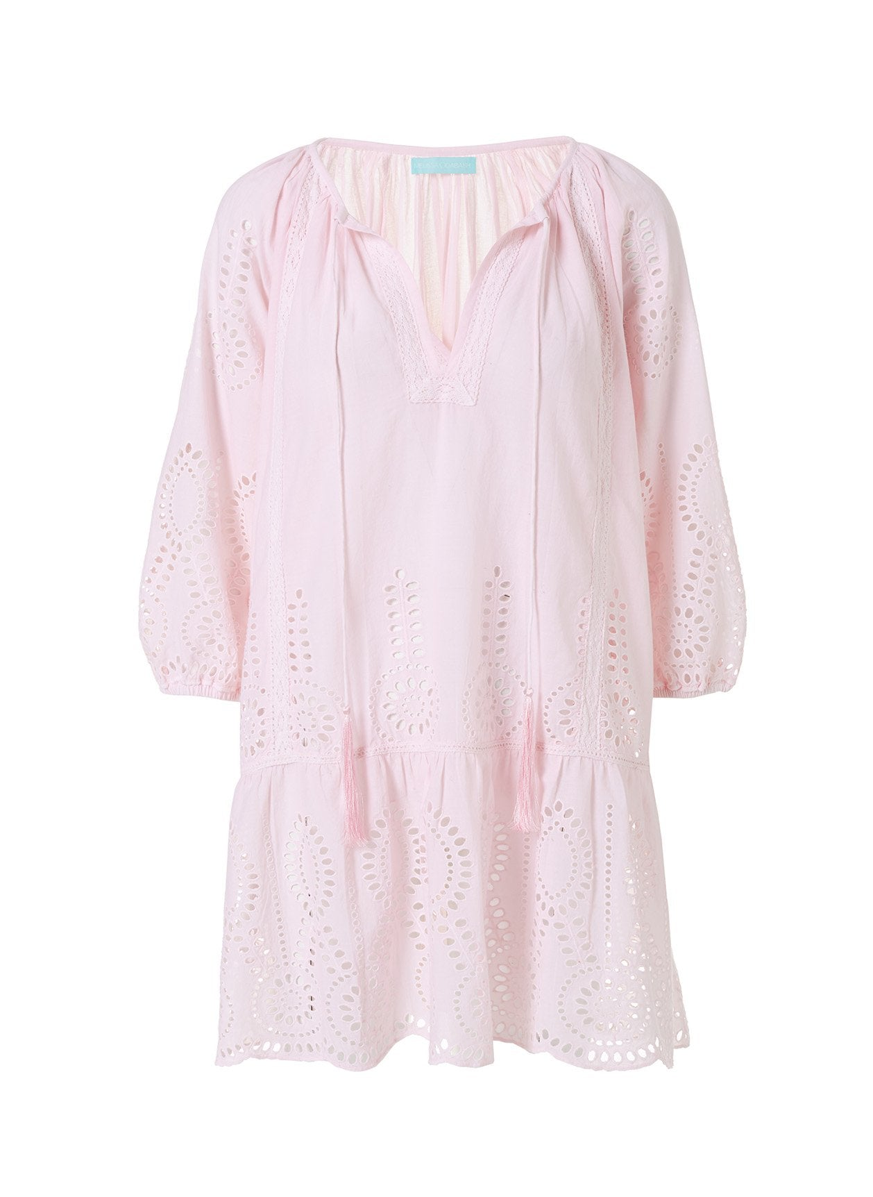 ashley blush short kaftan