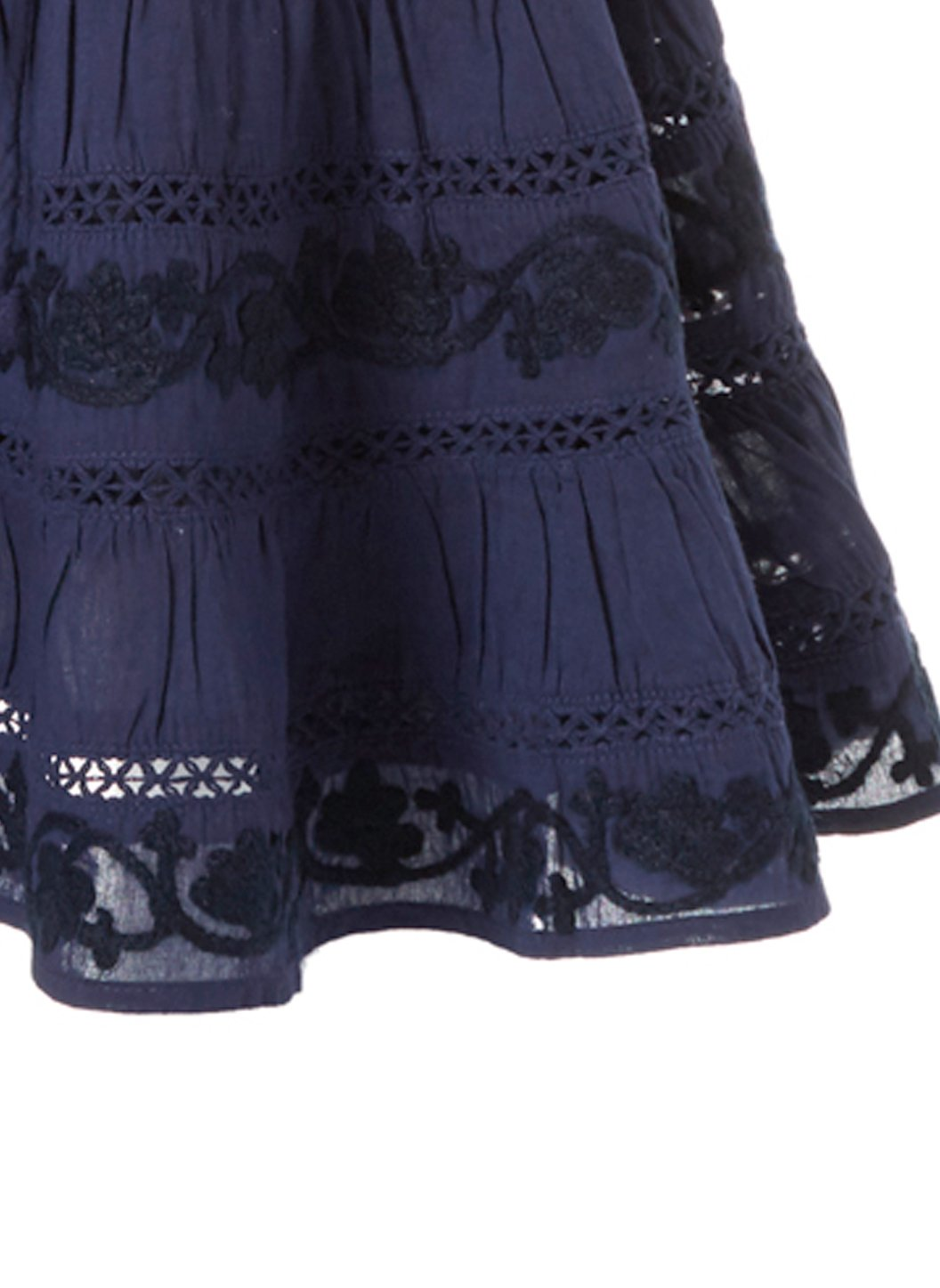 Baby Anita Navy Skirt