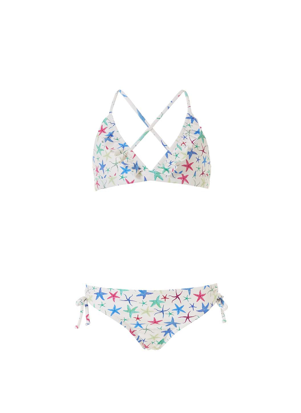 Baby New York Starfish Triangle Bikini
