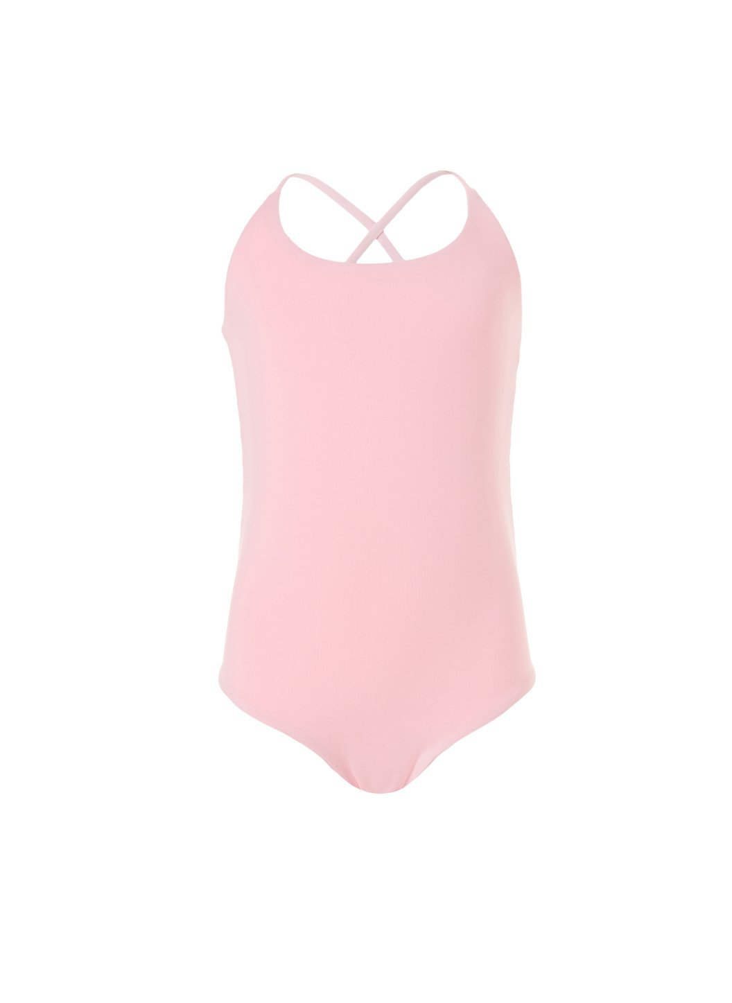 baby vicky pale pink neon cross back onepiece swimsuit 2019 2