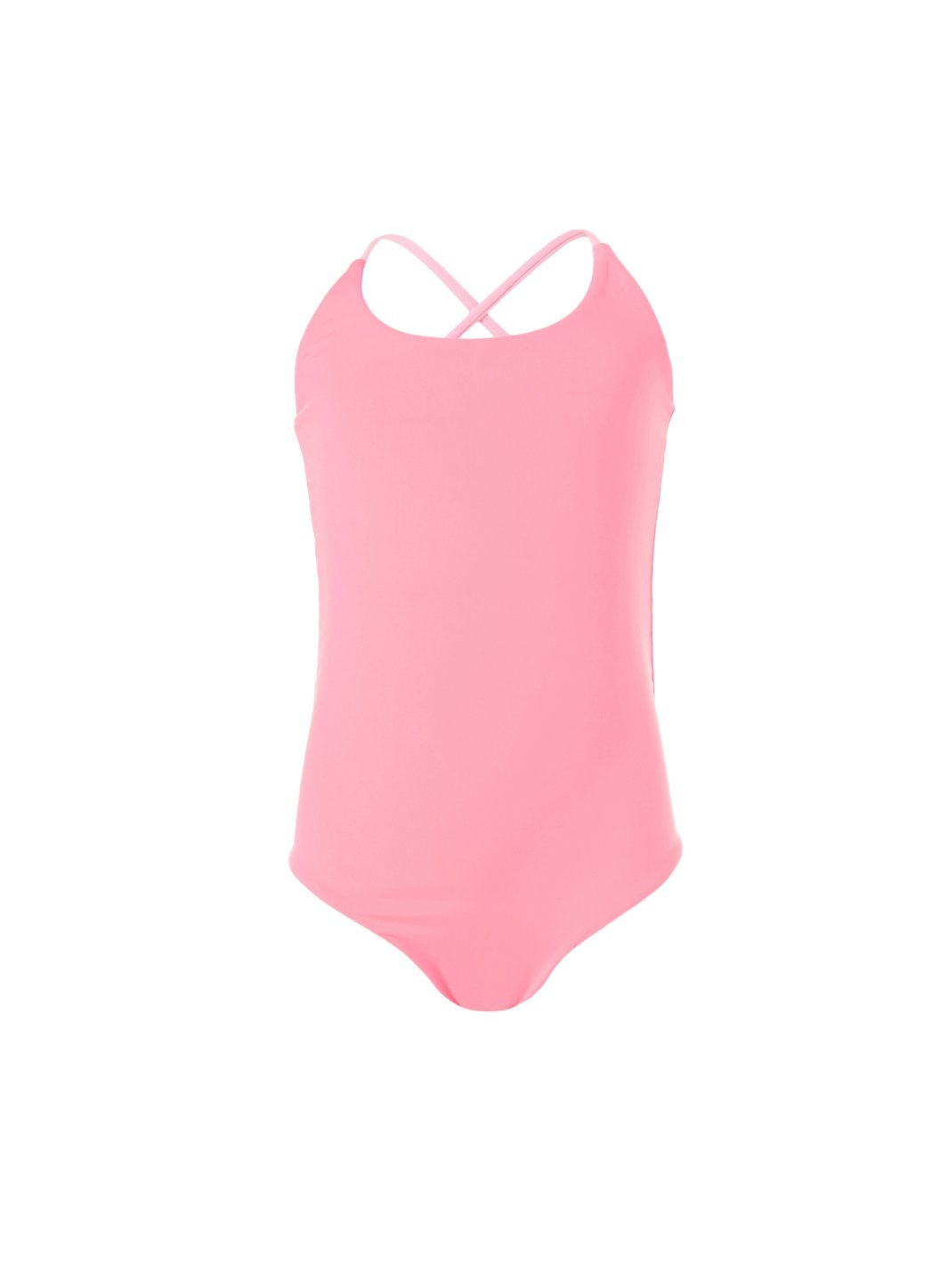 baby vicky pale pink neon cross back onepiece swimsuit 2019