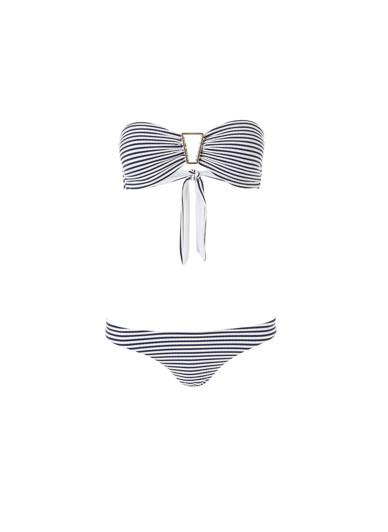 barcelona bikini nautical navy