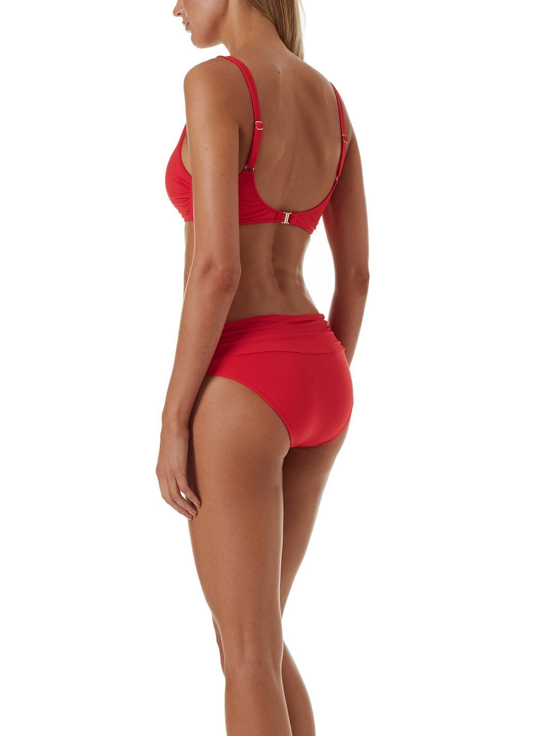 bel air bikini red
