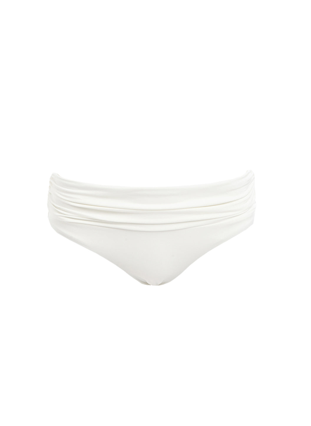 Belair Cream Over The Shoulder Supportive Bikini Bottom