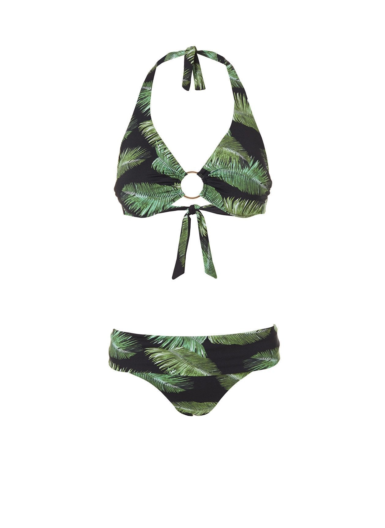 brussels bikini palm black
