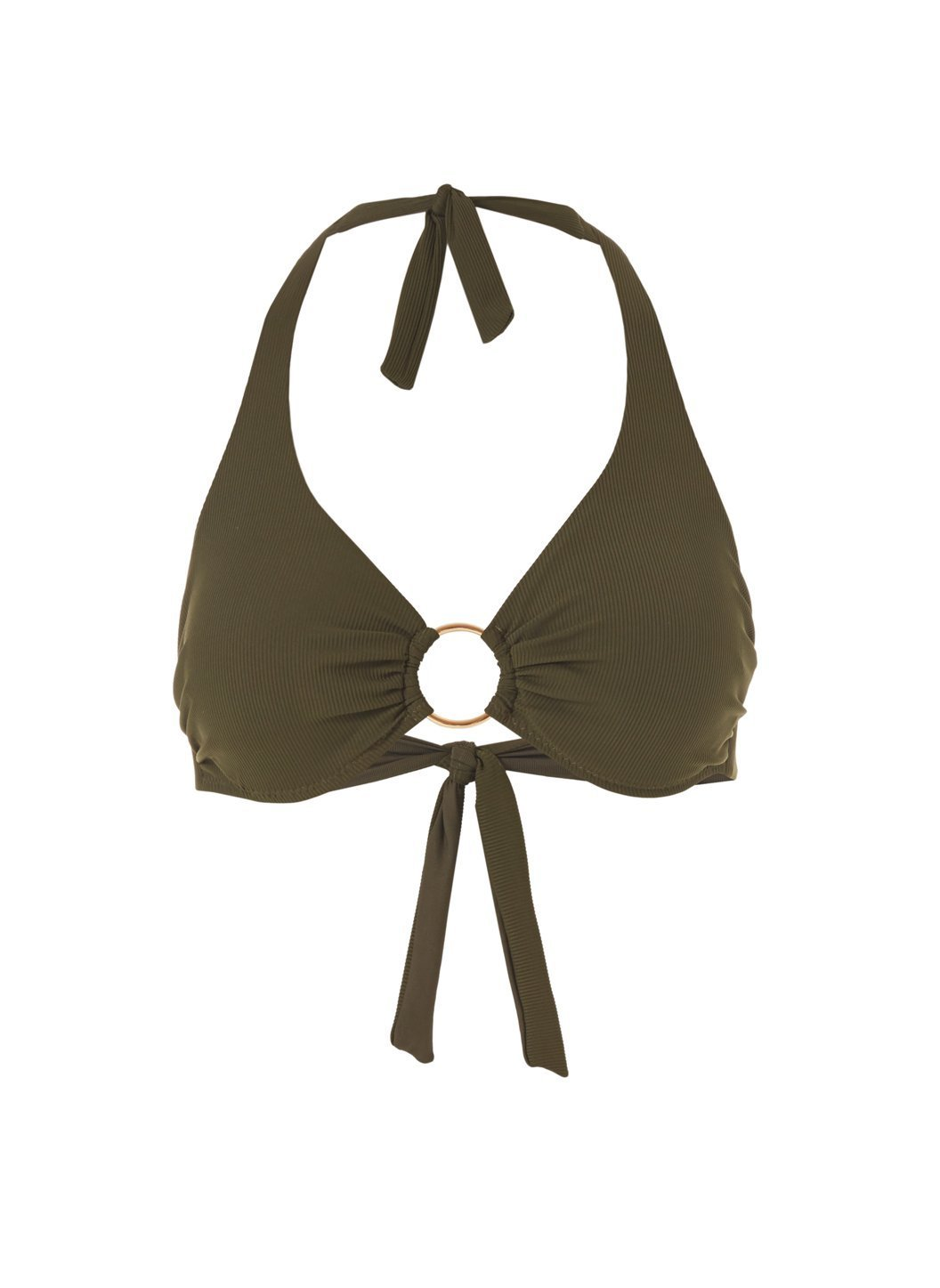 brussels-olive-ribbed-bikini-top - Cut-Out
