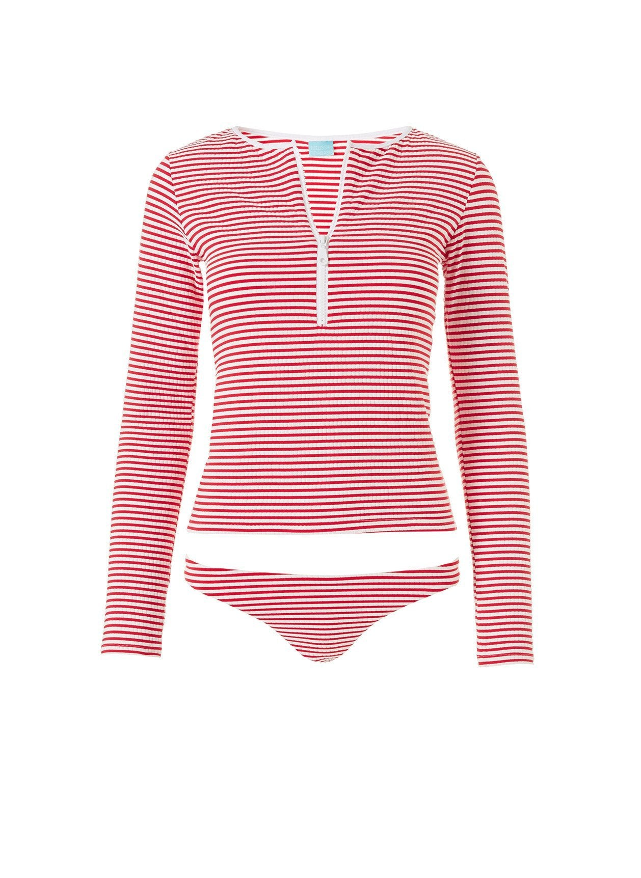 cali bikini nautical red