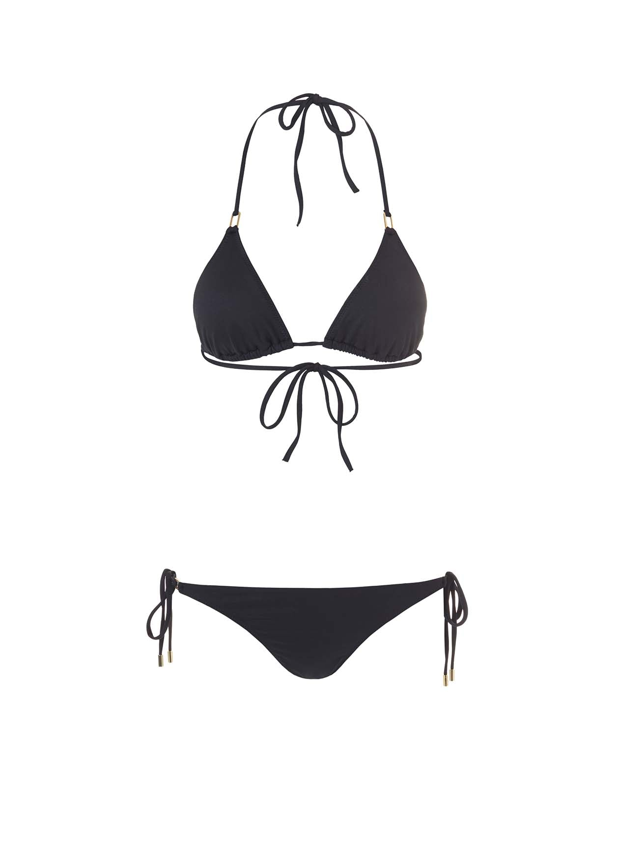 Cancun Black Triangle Bikini