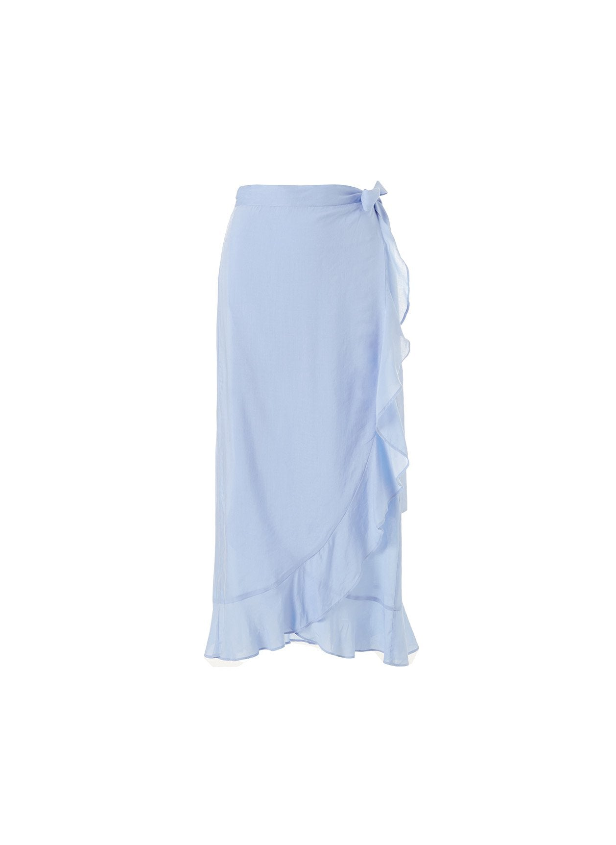 danni cornflower long skirt