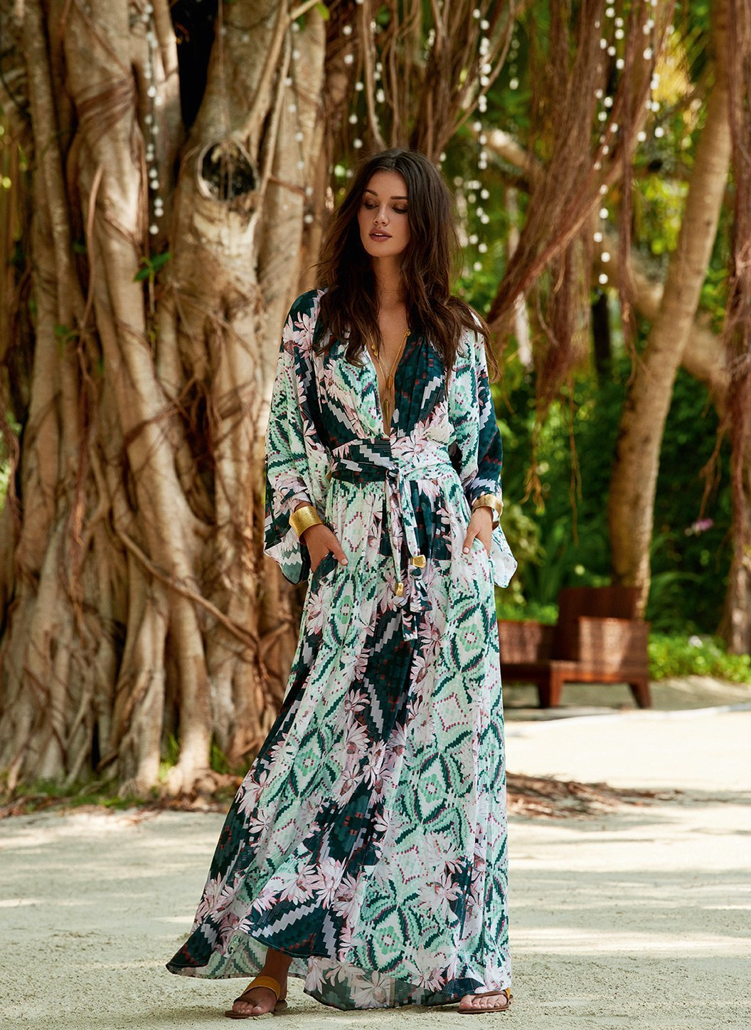 erin eden belted maxi dress lifestyle 2019