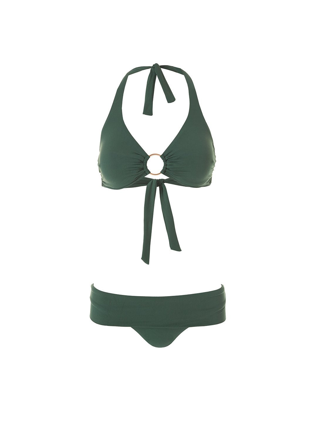 exclusive brussels forest halterneck ring supportive bikini 2019