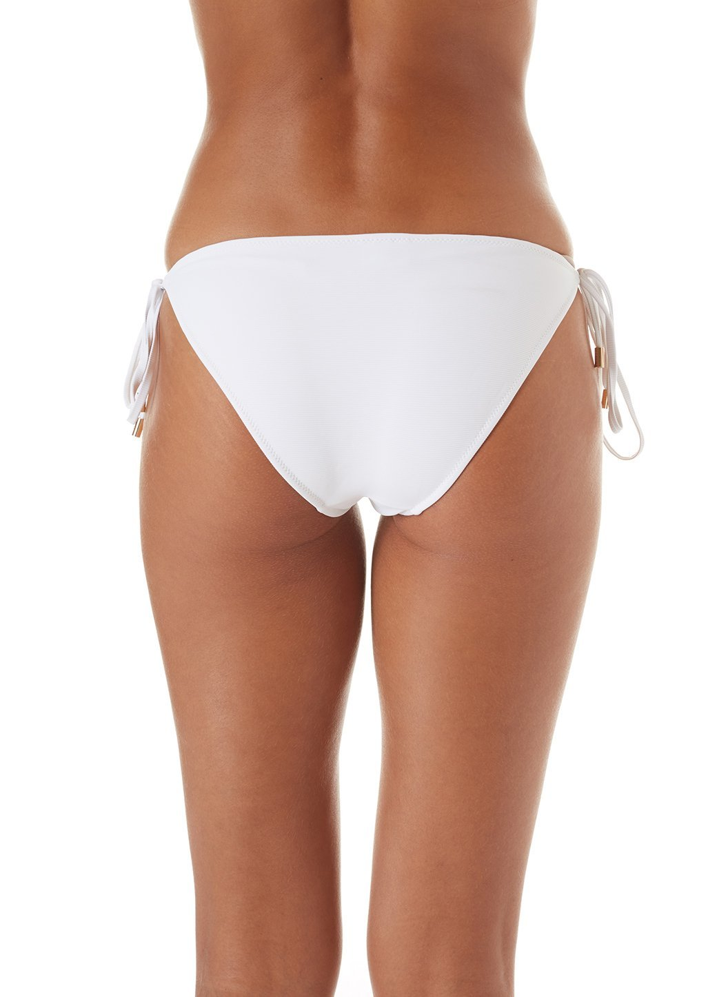 exclusive cancun bikini bottoms white ribbed 2019 B