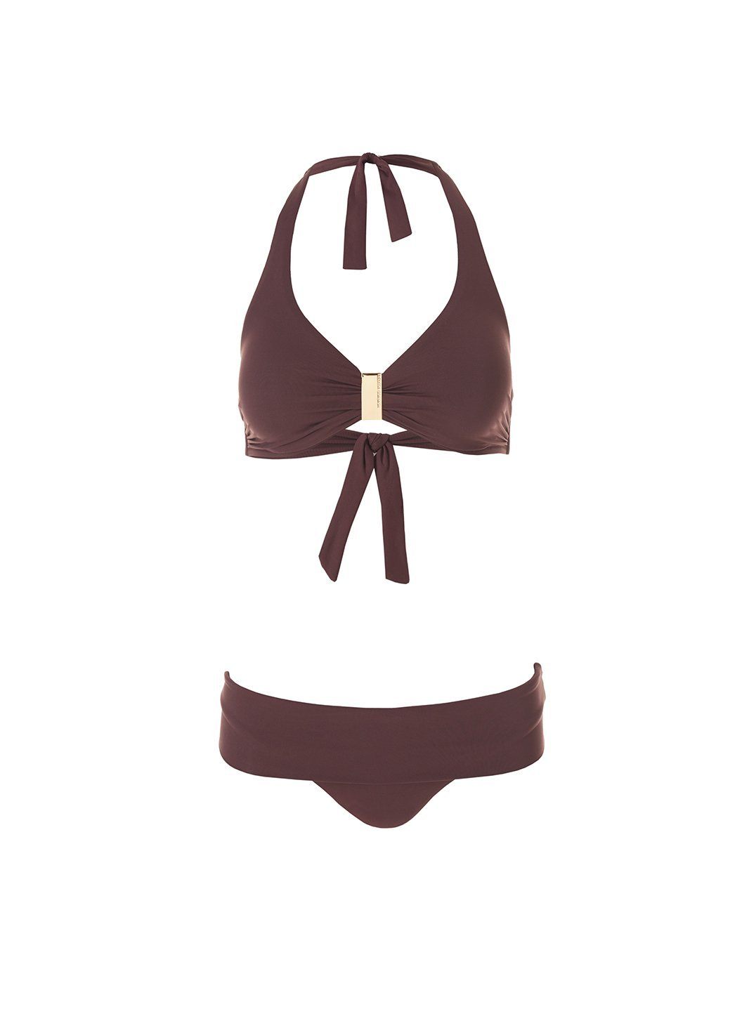 exclusive provence walnut halterneck supportive bikini 2019