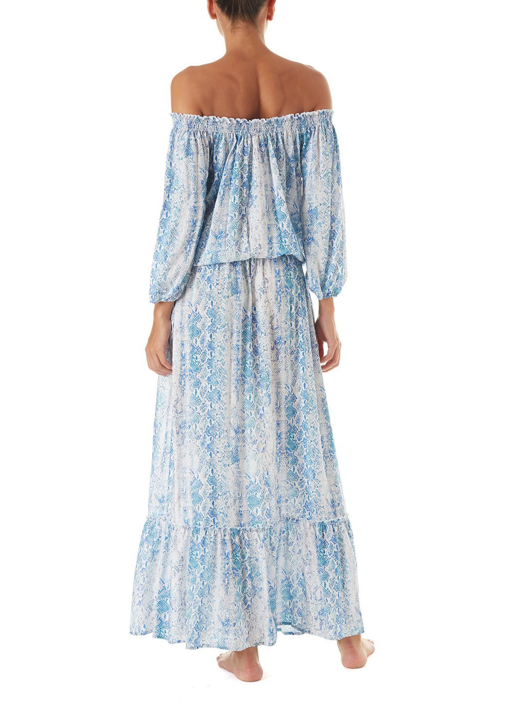 faith serpente offtheshoulder maxi dress 2019 B