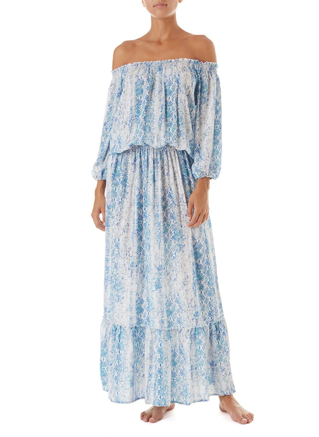 faith serpente offtheshoulder maxi dress 2019 F