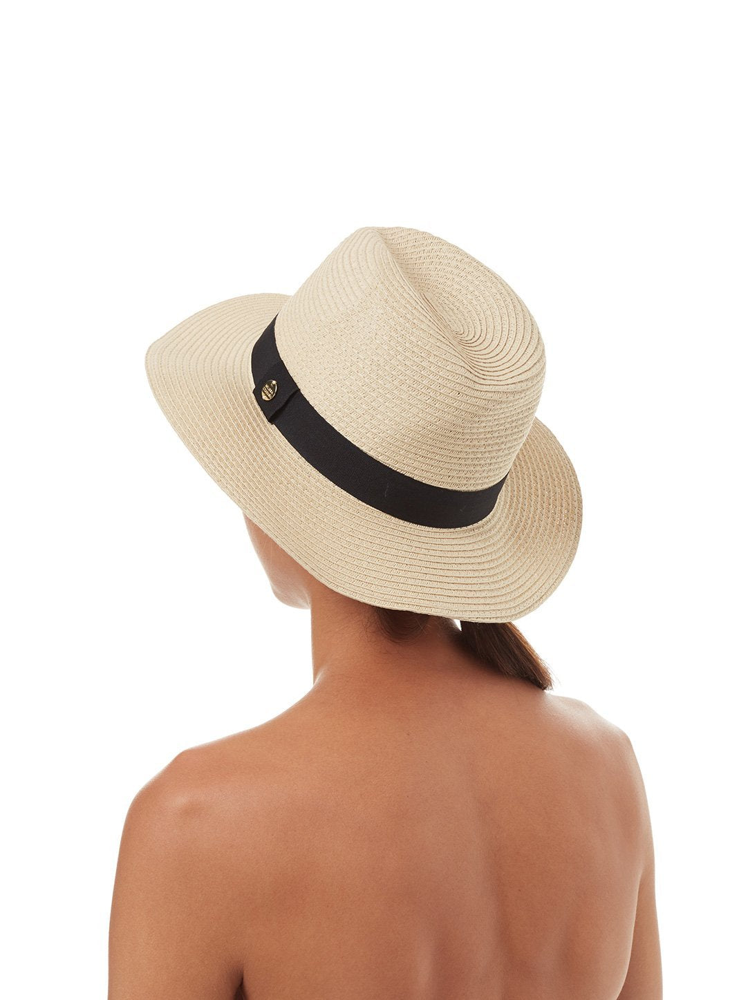 fedora hat beige black 2019 2