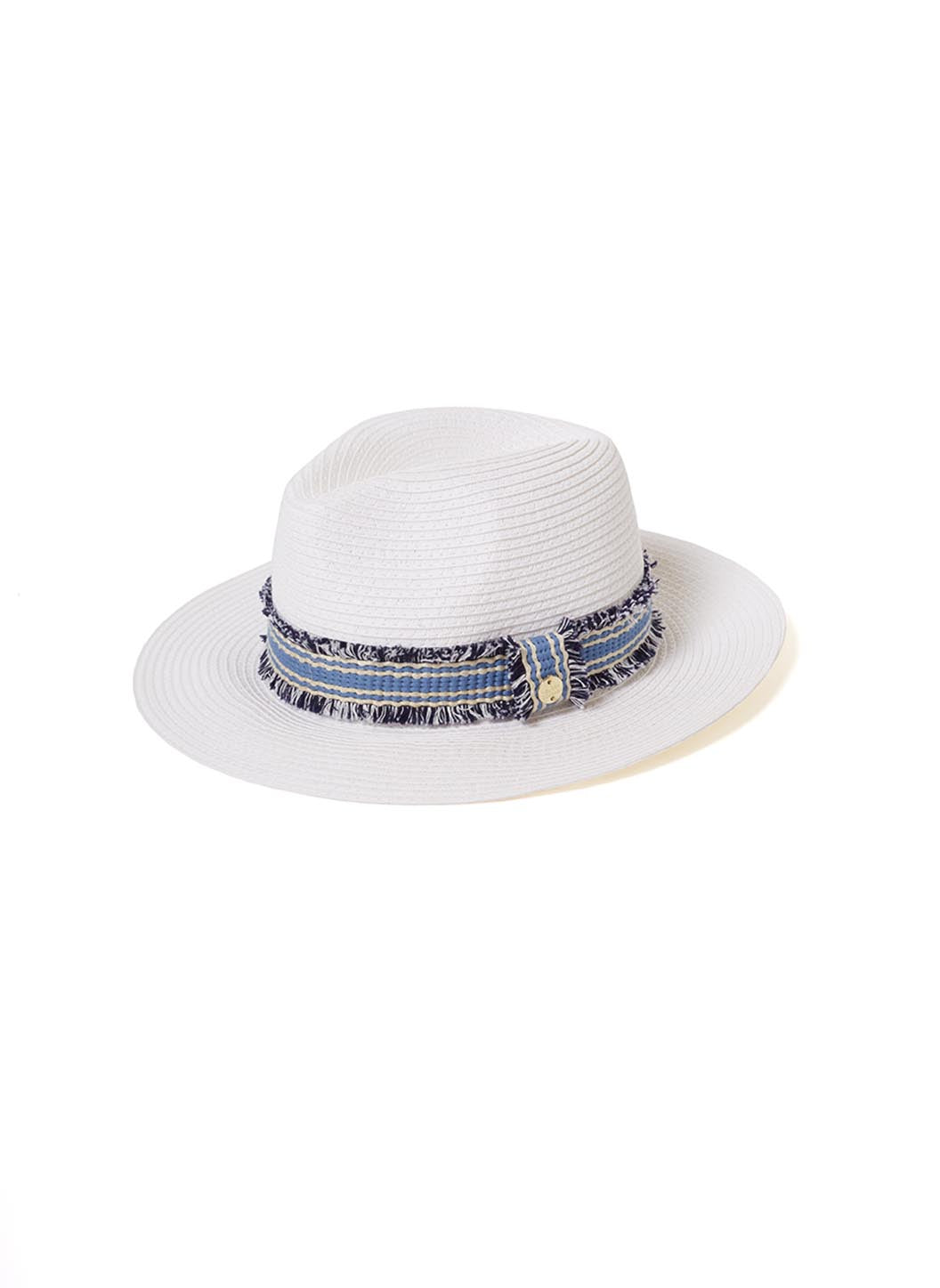 Fedora White/Blue