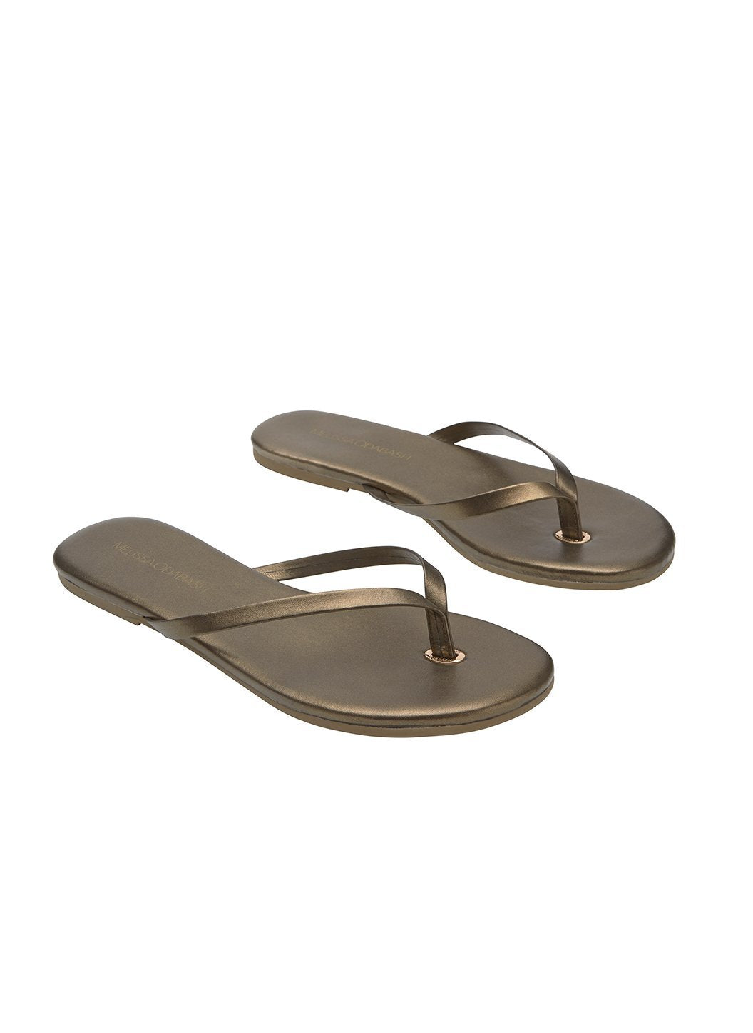 flip flop leather bronze 2019 2