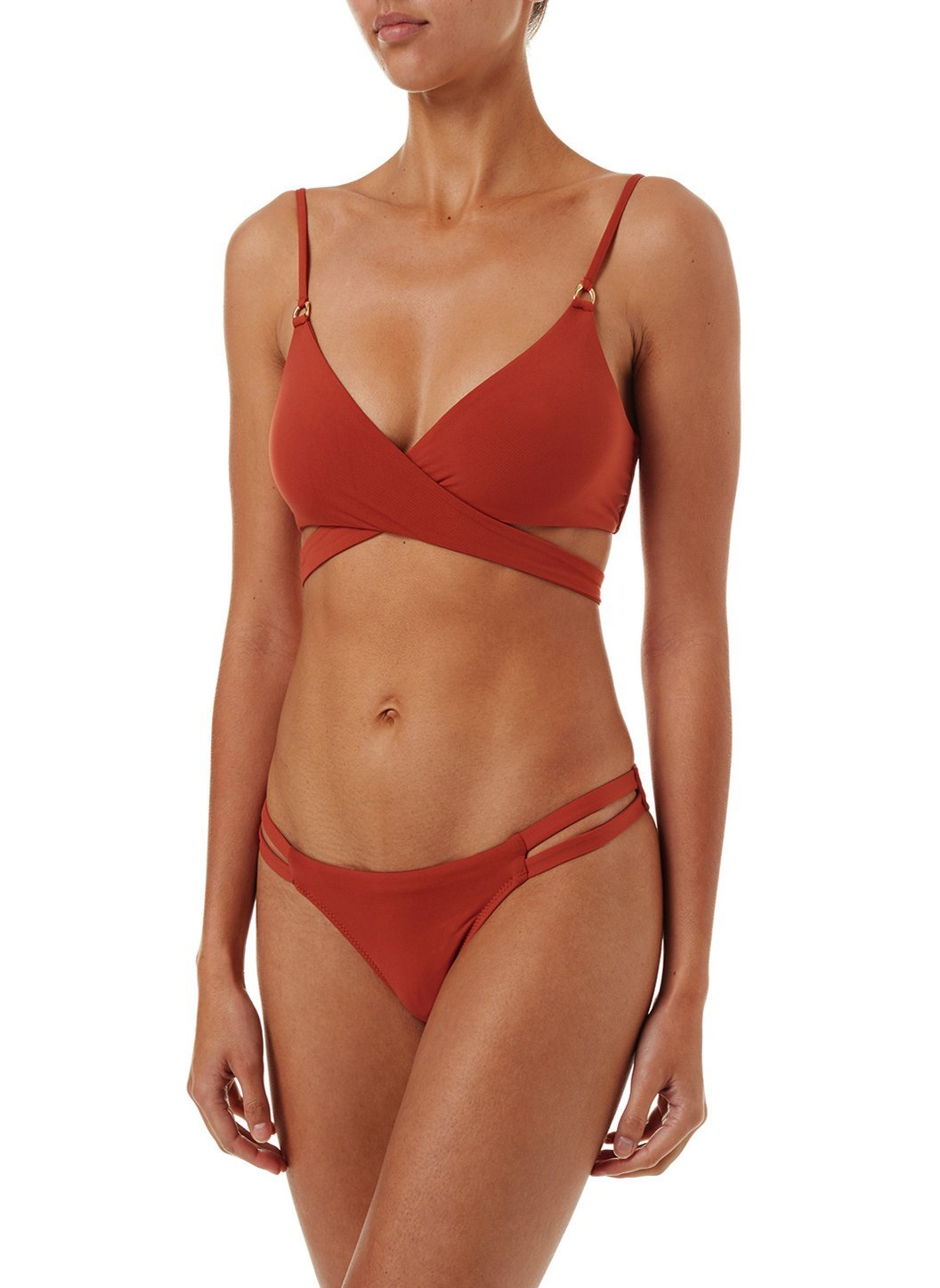 indonesia cinnamon overtheshoulder wrap bikini 2019 F