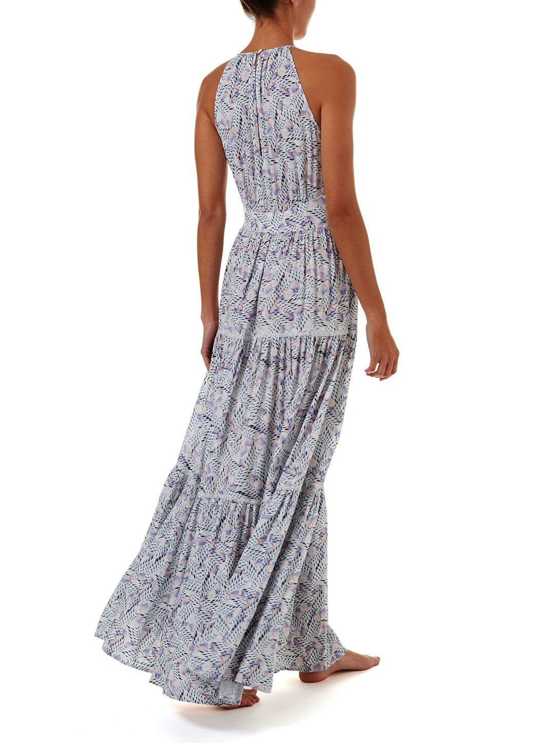isadora azari high neck maxi dress 2019 B