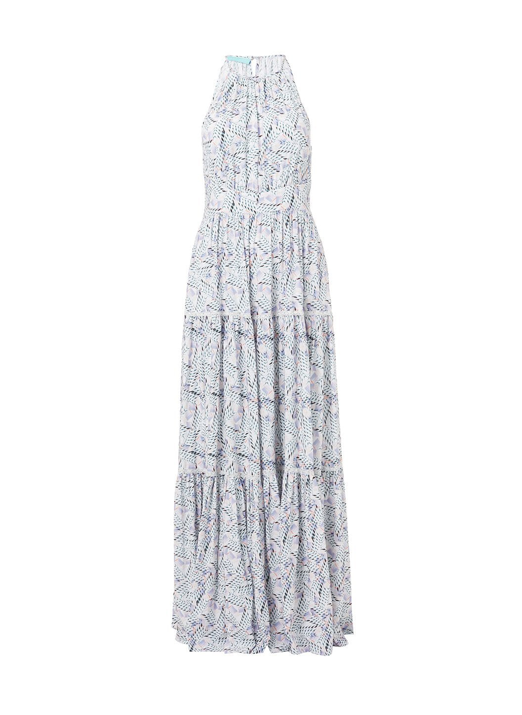 isadora azari high neck maxi dress 2019