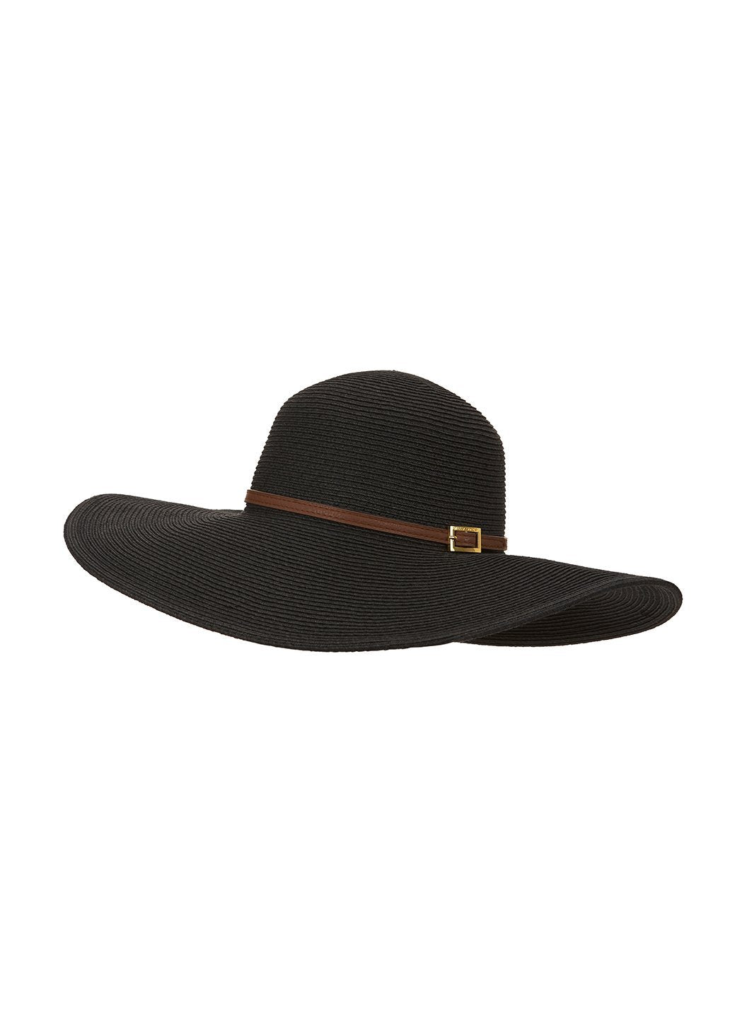 jemima wide brim beach hat black 2019