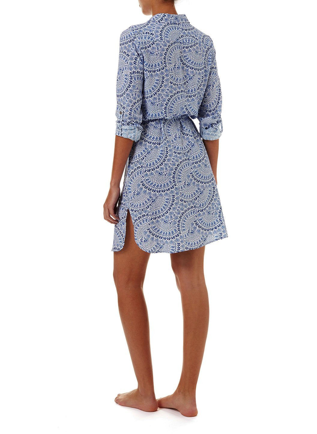lois capri button down belted shirt dress 2019 B