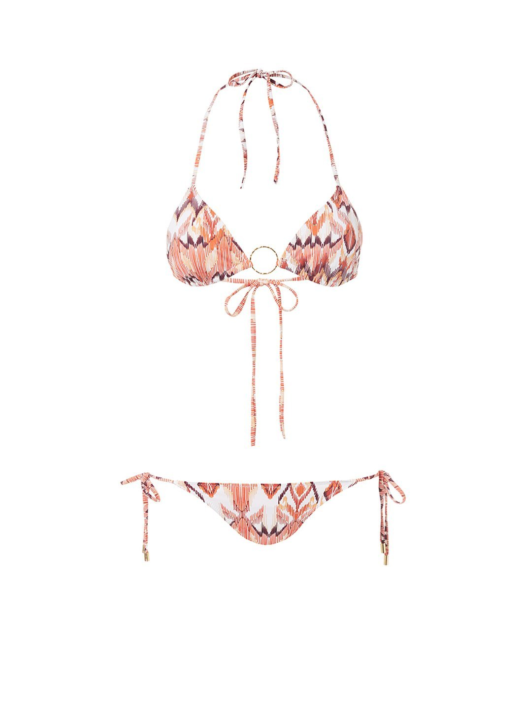 miami ikat triangle ring bikini 2019