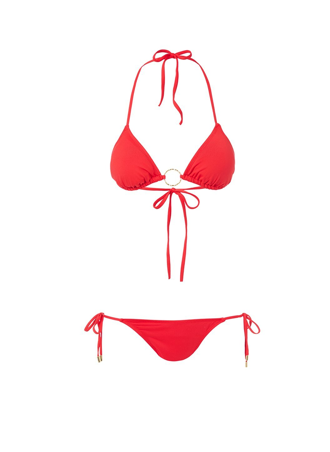 miami red triangle ring bikini 2019