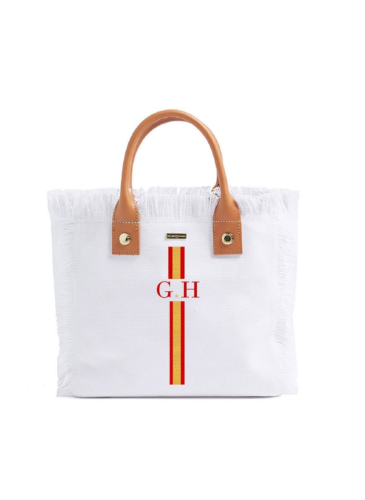 Porto Cervo White Red/Gold