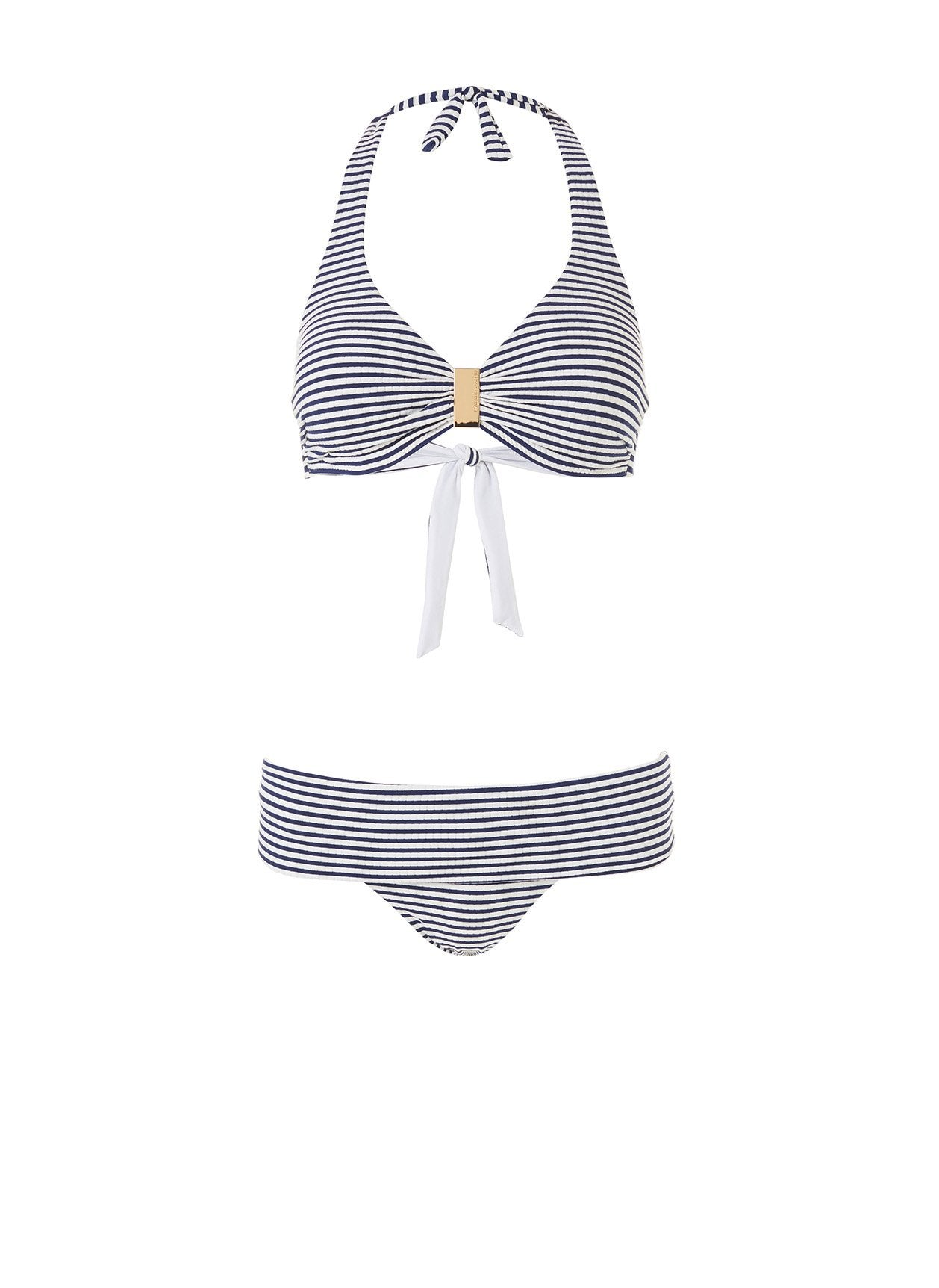 Provence Nautical Navy Halterneck Bikini