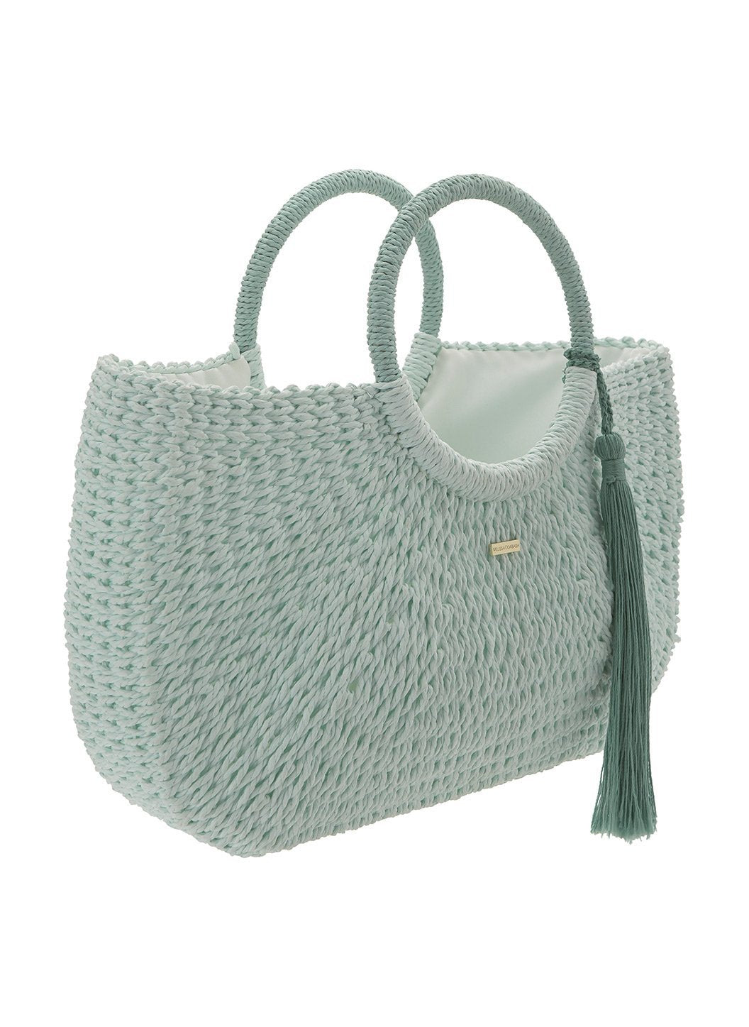 sorrento woven basket bag mint 2019 2
