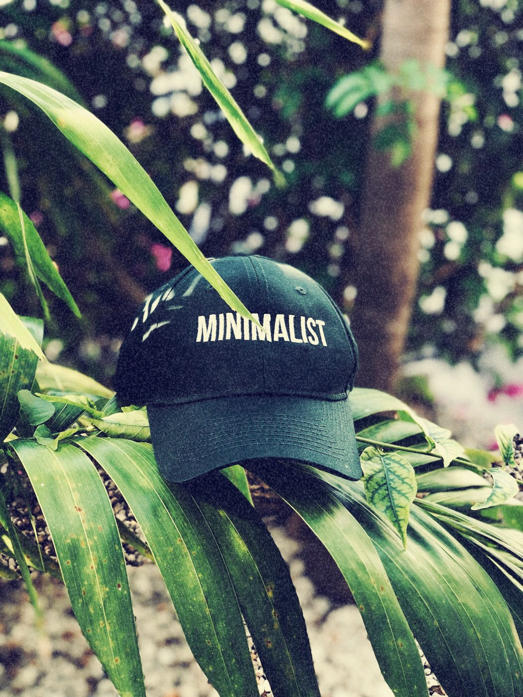 Minimalist Dad Hat Green.