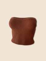 Trixie Top - Brown